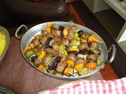miam miam cuisine des brochettes de boulettes de boeufs à la congolaise miam miam