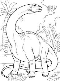 brontosaurus dinosaur coloring pages printable coloring pages