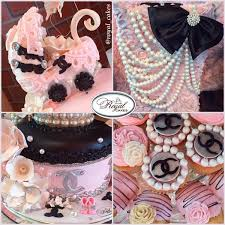 chanel baby shower ig royal cakes on chanel baby babyshower chanel