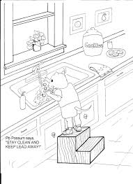 jasper county lead poisoning prevention coloring pages