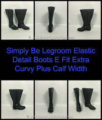 womens size 9 eee boots curvy wordy simply be curvy plus boots do you get what