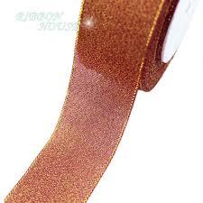 glitter ribbon wholesale 25 yards roll 40mm wine metallic glitter ribbon colorful gift
