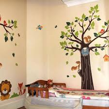 animal themed childrens bedrooms jungle and wild design surprising