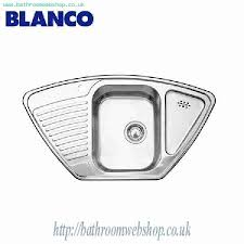 Steel Kitchen Sinks BLANCO Tipo E Stainless Steel Kitchen Sink - Fitting kitchen sink waste