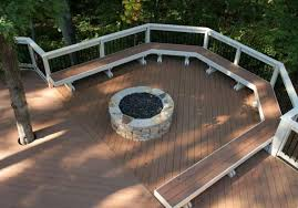 Firepit Mat The Importance Of Pit Mat For Wood Deck Ideas Within Plans 5