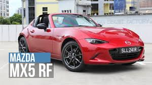 the mazda holy flying buttresses the mazda mx5 rf 2017 youtube