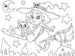 16 free halloween coloring pages images