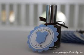 baby shower nail polish favors choice image baby shower ideas