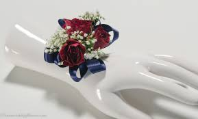 Corsages And Boutonnieres For Prom Blue Corsage Flowers Sheilahight Decorations