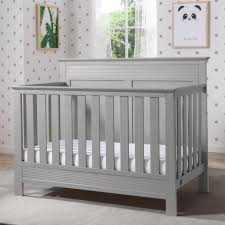 Grey Convertible Crib by Serta Fall River 4 In 1 Convertible Crib Grey Toys