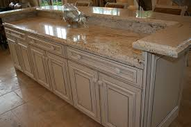 Kitchen Design Granite by Decorating Dark Paint Kitchen Cabinet With Cosmos Granite