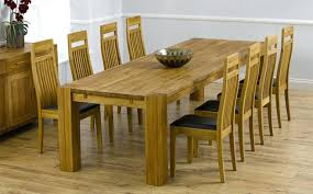 Oak Extending Dining Table And 8 Chairs Oak Dining Table 8 Chairs Visualnode Info