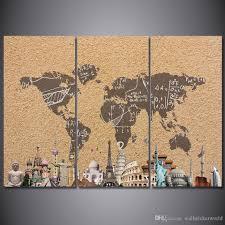 World Map Wall Decor Discount World Map Wall Art Panels 2018 World Map Wall Art