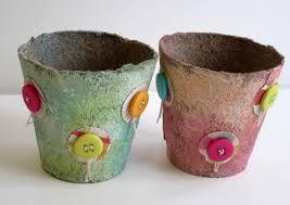 Decorating Clay Pots Kids 395 Best Macetas Images On Pinterest Paint Flowers Painted