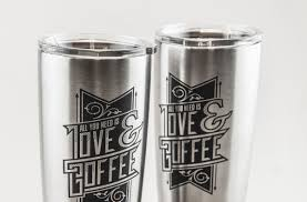 products for cool profits engrave a stainless steel tumbler