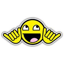 Smiley Meme - no worries smiley face car sticker 130mm meme funny vw sticker ebay