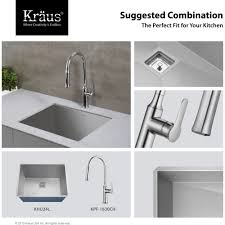 Stainless Steel Laundry Room Sinks by Kraus Khu24l Pax Stainless Steel Single Bowl Laundry Utility