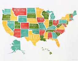 Georgia Usa Map by Amazoncom 48x78 United States Classic Premier 3d Laminated Wall