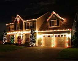 wall mounted outdoor christmas lights top 46 outdoor christmas lighting ideas illuminate the holiday