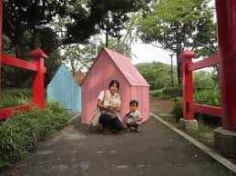 global houses gallery of origami houses tables that become shelters when