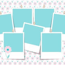 spring photo collage template 10812 dryicons