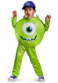 Baby Monster Halloween Costumes by Monsters Inc Costumes Halloweencostumes Com