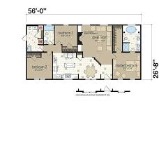 Titan Mobile Home Floor Plans Floor Plans The St Lawrence 753 Manufactured And Modular Homes