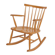 Wood Rocking Chair Vintage Vintage Birch Wood Rocking Chair From The 60s Ztijl
