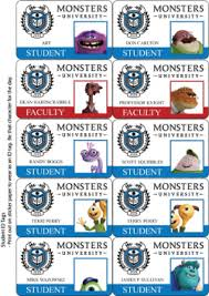 monster tag stickers monsters stickers free printable