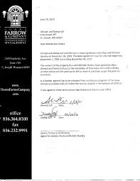 property management contract termination letter letter idea 2018