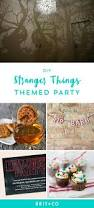 Halloween 1st Birthday Party Invitations 31 Best Stranger Things Party Images On Pinterest Halloween