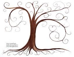 graduation gift thumbprint tree guest book pdf file printable