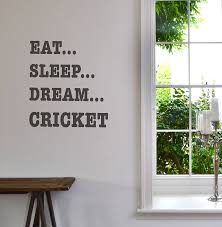 eat sleep dream sport wall sticker by leonora hammond eat sleep dream sport wall sticker