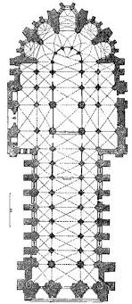 reims cathedral floor plan 034 high gothic france plan chartres cathedral 1194 1250 the