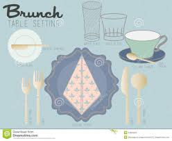 How To Properly Set A Table by How To Set A Table Properly Diagram Get Inspired With Home