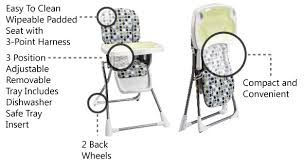 Evenflo High Chairs Compact Highly Rated Affordable Evenflo Folding High Chair