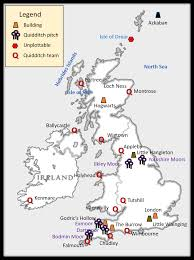atlas of wizarding britain u2013 the harry potter lexicon
