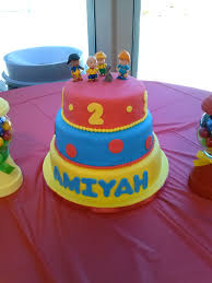 caillou birthday cake caillou cake j productions