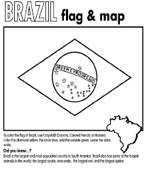 brazilian flag u0026 map coloring page from crayola com unit studies