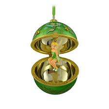 your wdw store disney ornament tinker bell in hinged