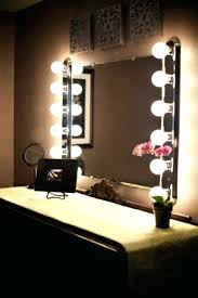 mirror with light bulbs vanity wall mirrors vanity wall mirrors lighted bathroom wall mirror