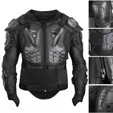 black motocross bike motocross motorcycle body armour jacket dirt bike shoulder