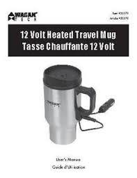 wagan 12v heated travel mug pair walmart com