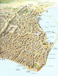 Map Of Syria Google Search Maps Pinterest by A Map Of The Crusader City Of Acre In The 13th Century Maps