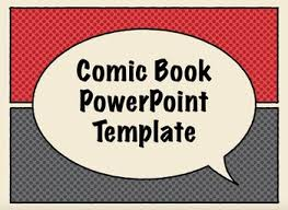 free comic book presentation templates for keynote or power point
