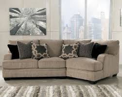 Leather Cloth Sofa Leather And Fabric Sectional Sofas Foter