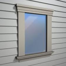 exterior window frame home design