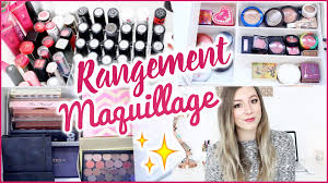 Rangement Dressing Fly by Mon Rangement Maquillage Astuces Organisation Youtube