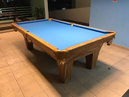 brunswick 3 piece slate pool table refurbished used pool tables for sale in singapore