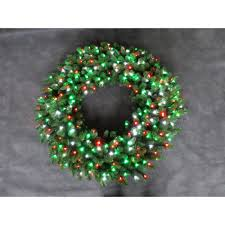 christmas swag christmas wreaths garland the home depot led pre lit artificial christmas wreath with micro style red